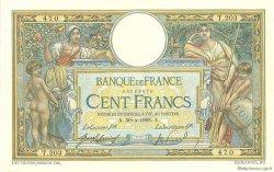 100 Francs LUC OLIVIER MERSON avec LOM FRANCE  1908 F.22.01 TTB+ à SUP
