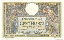100 Francs LUC OLIVIER MERSON sans LOM FRANCE  1909 F.23.00 SUP