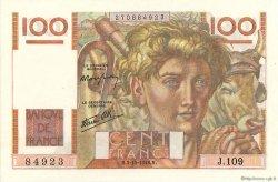 100 Francs JEUNE PAYSAN FRANCE  1946 F.28.09 SUP+