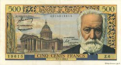 500 Francs VICTOR HUGO FRANCE  1954 F.35.01 pr.SUP
