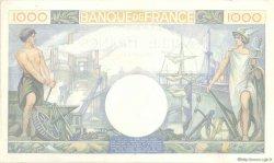 1000 Francs COMMERCE ET INDUSTRIE FRANCE  1940 F.39.01 SUP