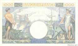 1000 Francs COMMERCE ET INDUSTRIE FRANCE  1940 F.39.02 SUP+