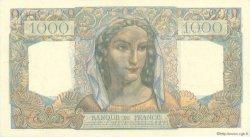 1000 Francs MINERVE ET HERCULE FRANCE  1945 F.41.03 pr.SPL