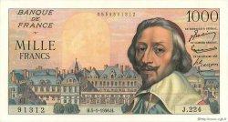 1000 Francs RICHELIEU FRANCE  1956 F.42.18 pr.NEUF