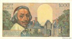 1000 Francs RICHELIEU FRANCE  1957 F.42.26 pr.SUP