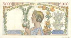 5000 Francs VICTOIRE Taille Douce FRANCE  1934 F.44.01 TTB+