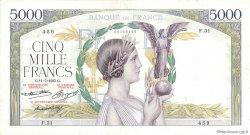 5000 Francs VICTOIRE Taille Douce FRANCE  1935 F.44.03 pr.TB
