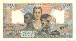 5000 Francs EMPIRE FRANÇAIS FRANCE  1946 F.47.54 SUP+