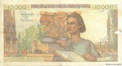 10000 Francs GÉNIE FRANÇAIS FRANCE  1947 F.50.18 pr.TTB
