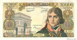 10000 Francs BONAPARTE FRANCE  1958 F.51.13 SUP