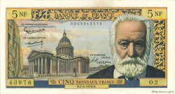 5 Nouveaux Francs VICTOR HUGO FRANCE  1959 F.56.01 SUP+