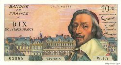 10 Nouveaux Francs RICHELIEU FRANCE  1961 F.57.14 pr.SPL