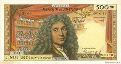 500 Nouveaux Francs MOLIÈRE FRANCE  1963 F.60.05 SUP