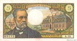 5 Francs PASTEUR FRANCE  1966 F.61.02 TTB+