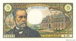 5 Francs PASTEUR FRANCE  1966 F.61.03 SPL