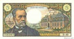 5 Francs PASTEUR FRANCE  1966 F.61.04 SUP
