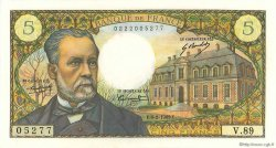 5 Francs PASTEUR FRANCE  1969 F.61.09