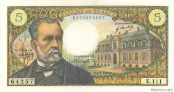 5 Francs PASTEUR FRANCE  1969 F.61.11 SPL