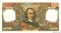 100 Francs CORNEILLE FRANCE  1965 F.65.07 SUP+