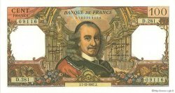 100 Francs CORNEILLE FRANCE  1967 F.65.19 pr.SPL
