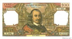 100 Francs CORNEILLE FRANCE  1969 F.65.26 pr.SPL