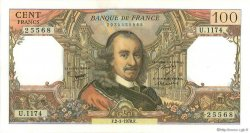 100 Francs CORNEILLE FRANCE  1978 F.65.62 SPL+