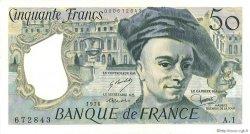 50 Francs QUENTIN DE LA TOUR FRANCE  1976 F.67.01 pr.SPL