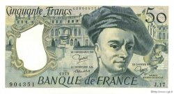 50 Francs QUENTIN DE LA TOUR FRANCE  1979 F.67.05 SPL+