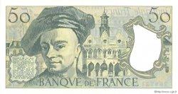 50 Francs QUENTIN DE LA TOUR FRANCE  1992 F.67.19b SPL