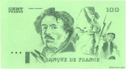 100 Francs DELACROIX modifié FRANCE  1978 F.69.00e2 NEUF