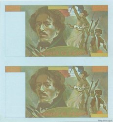 100 Francs DELACROIX FRANCE  1978 F.68.00 NEUF