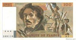 100 Francs DELACROIX FRANCE  1978 F.68.01 pr.SUP