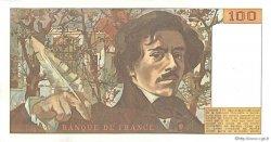 100 Francs DELACROIX modifié FRANCE  1979 F.69.03 pr.NEUF