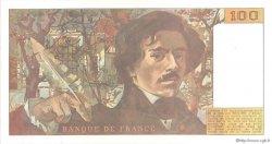 100 Francs DELACROIX imprimé en continu FRANCE  1990 F.69bis.02d SUP à SPL