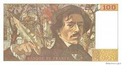 100 Francs DELACROIX imprimé en continu FRANCE  1991 F.69bis.03a1b pr.NEUF