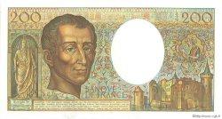 200 Francs MONTESQUIEU FRANCE  1982 F.70.02 pr.NEUF