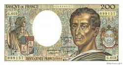 200 Francs MONTESQUIEU FRANCE  1982 F.70.02 NEUF
