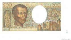 200 Francs MONTESQUIEU FRANCE  1984 F.70.04 SPL