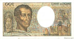 200 Francs MONTESQUIEU FRANCE  1988 F.70.08 TTB+