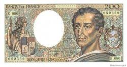 200 Francs MONTESQUIEU FRANCE  1990 F.70.10a pr.NEUF