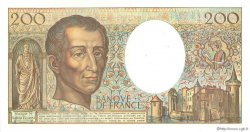 200 Francs MONTESQUIEU FRANCE  1990 F.70.10c NEUF