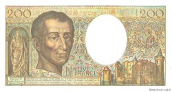 200 Francs MONTESQUIEU FRANCE  1992 F.70.12c NEUF