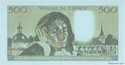 500 Francs PASCAL FRANCE  1968 F.71.00e2 NEUF