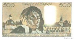 500 Francs PASCAL FRANCE  1981 F.71.25 pr.NEUF