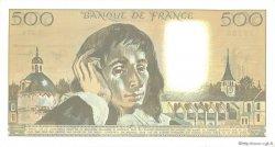 500 Francs PASCAL FRANCE  1988 F.71.38 pr.NEUF