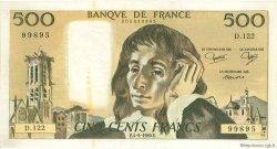 500 Francs PASCAL FRANCE  1980 F.71U.02 SUP+