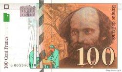 100 Francs CÉZANNE sans montagne FRANCE  1997 F.74ter.01 NEUF