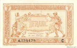 1 Franc TRÉSORERIE AUX ARMÉES FRANCE  1917 VF.03.03 SUP+
