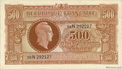 500 Francs Marianne FRANCE  1945 VF.11.03 TTB