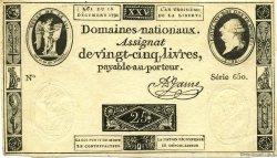 25 Livres FRANCE  1792 Muz.02 TTB+